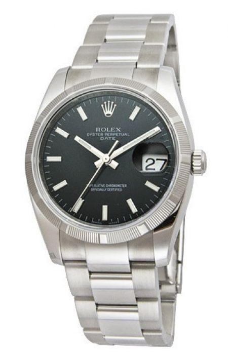 Rolex Perpetual Date 115210.BKSO