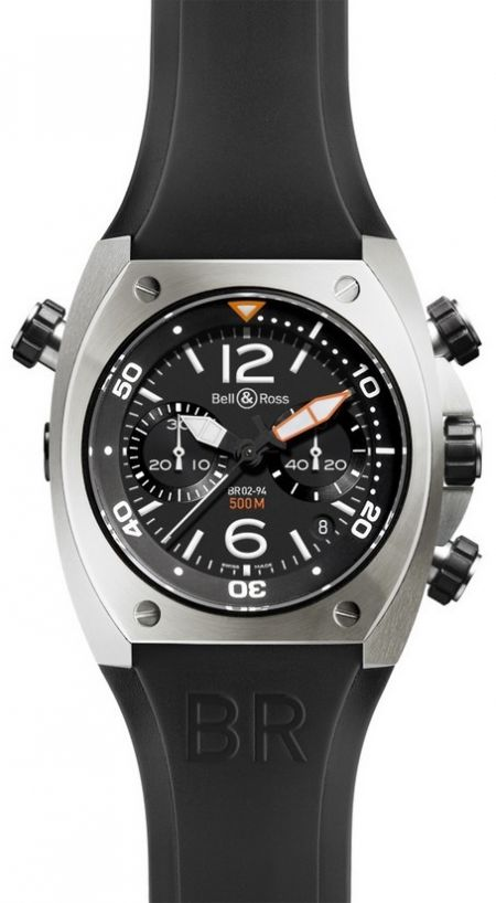 Bell & Ross BR 02 Chronograph BR 02 Chronograph Steel Finish