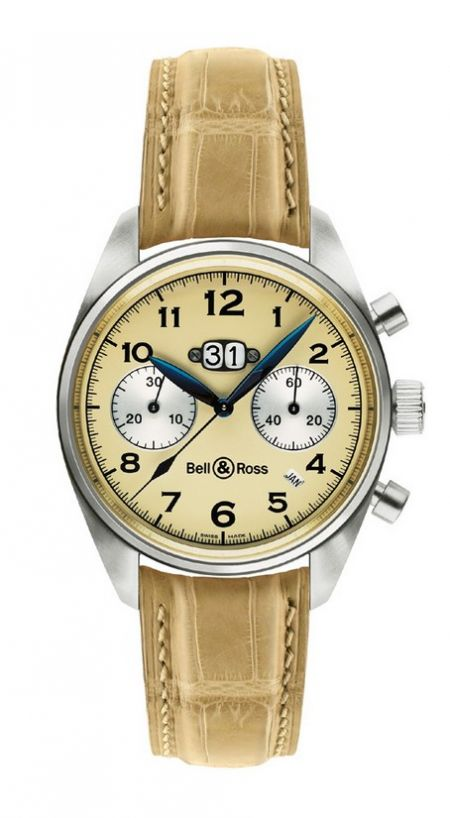 Bell & Ross Vintage 126 Platinum Annual Big Date Chronograph
