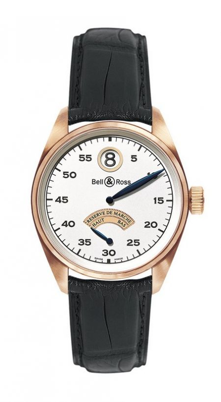 Bell & Ross Vintage 123 Gold Jumping Hour Vintage 123 Pink Gold