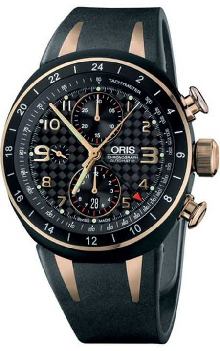 Oris TT3 Chronograph second Time Zone 01 677 7590 7764-Set