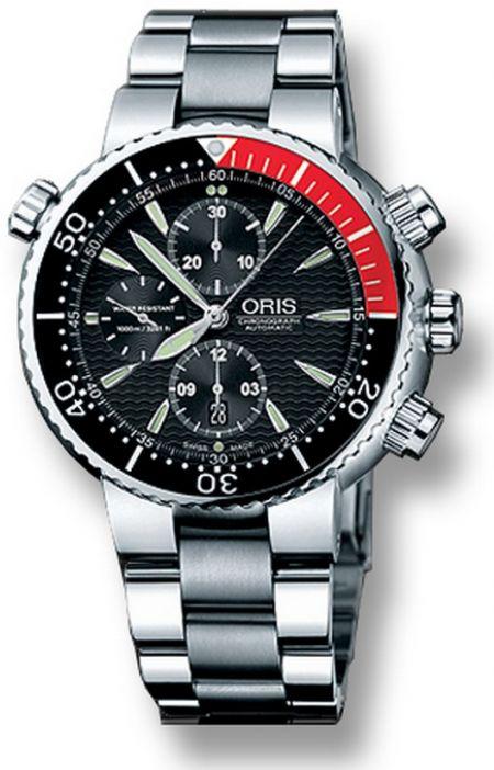 Oris Divers Titan Chronograph  674 7599 71 54 MB