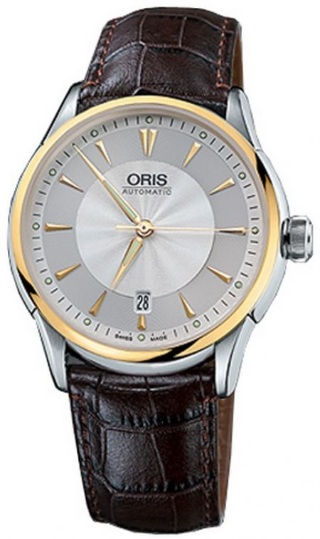 Oris Artelier Date 733 7591 43 51 LS