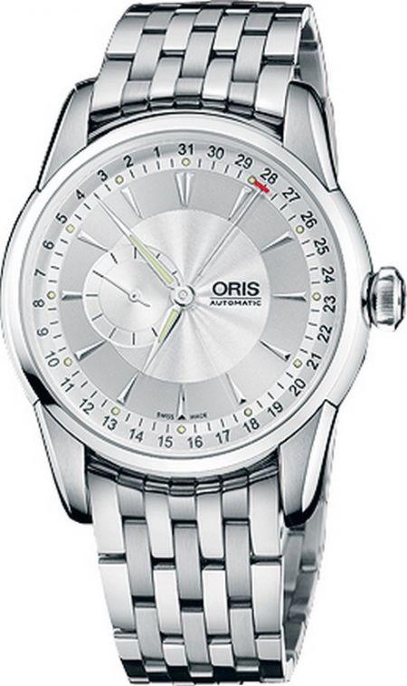 Oris Artelier Small second Pointer Date 644 7597 40 51 MB