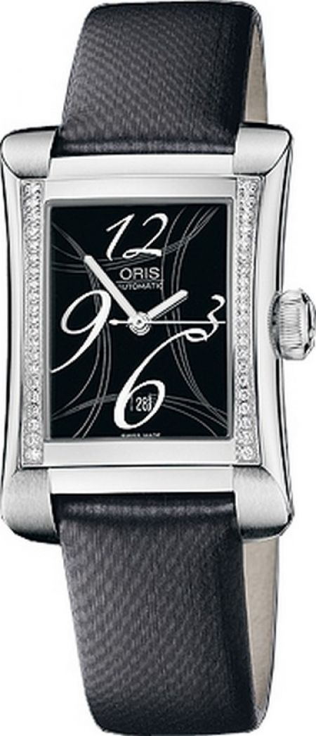 Oris Rectangular Date Diamonds 561 7621 49 64 LS