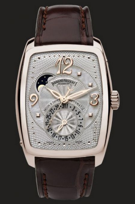 Armand Nicolet TL7 Moon Phase Date 7633A.AN.P968MRT0