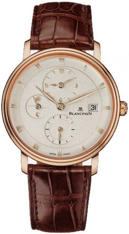 Blancpain Villeret Time Zone 6260.3642.55