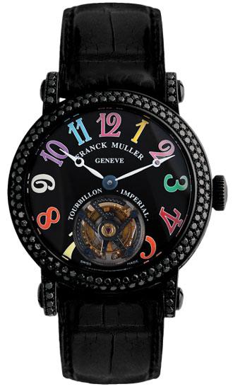 Franck Muller Imperial Tourbillon Color Dreams Black Diamonds 7008 T NR D CODR