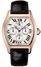Cartier Tortue Two Time Zone Perpetual Calendar